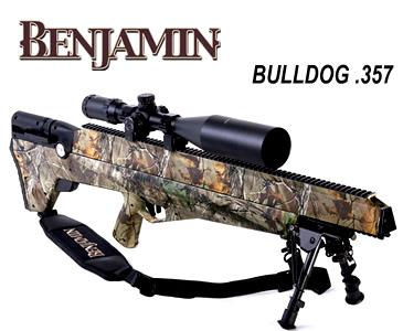 Carabina PCP bullpup – Benjamin Bulldog cal. .357