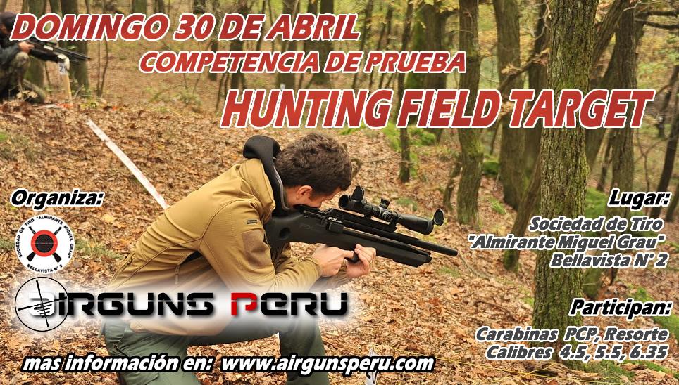 Hunting Field Target