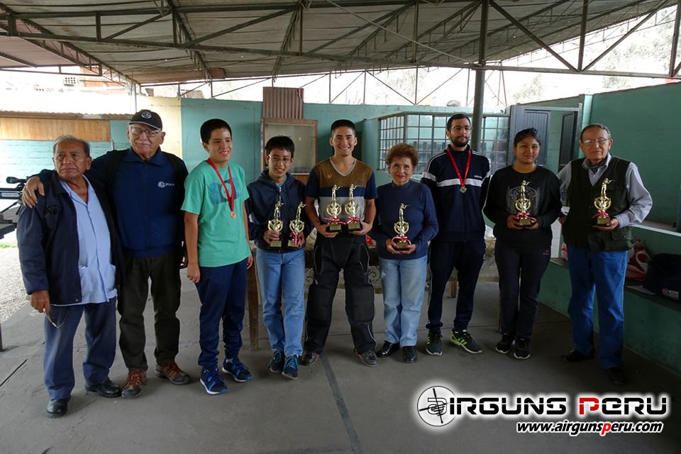 Campeonato de Tiro , Carabina Tradicional, Carabina Olímpica Club Internacional Revólver
