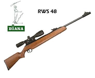 Carabina Spring – Diana RWS Model 48