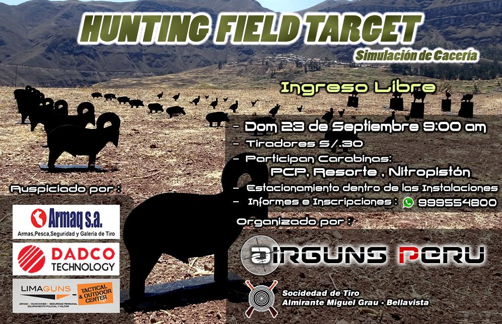 Torneo Hunting Field Target 23-09-18