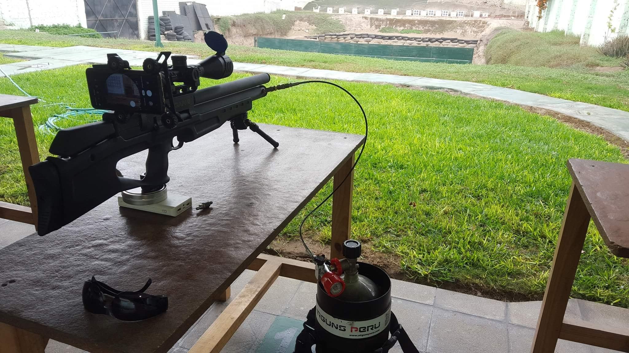Probando la Airgun Technology Vulcan 2 Tactical